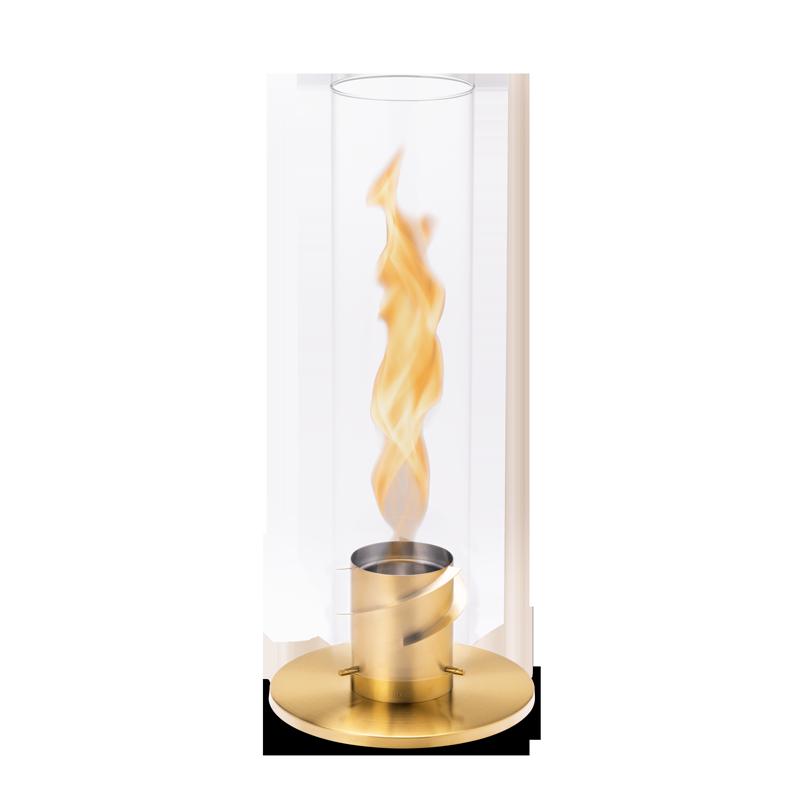 SPIN 120 Tischfeuer gold