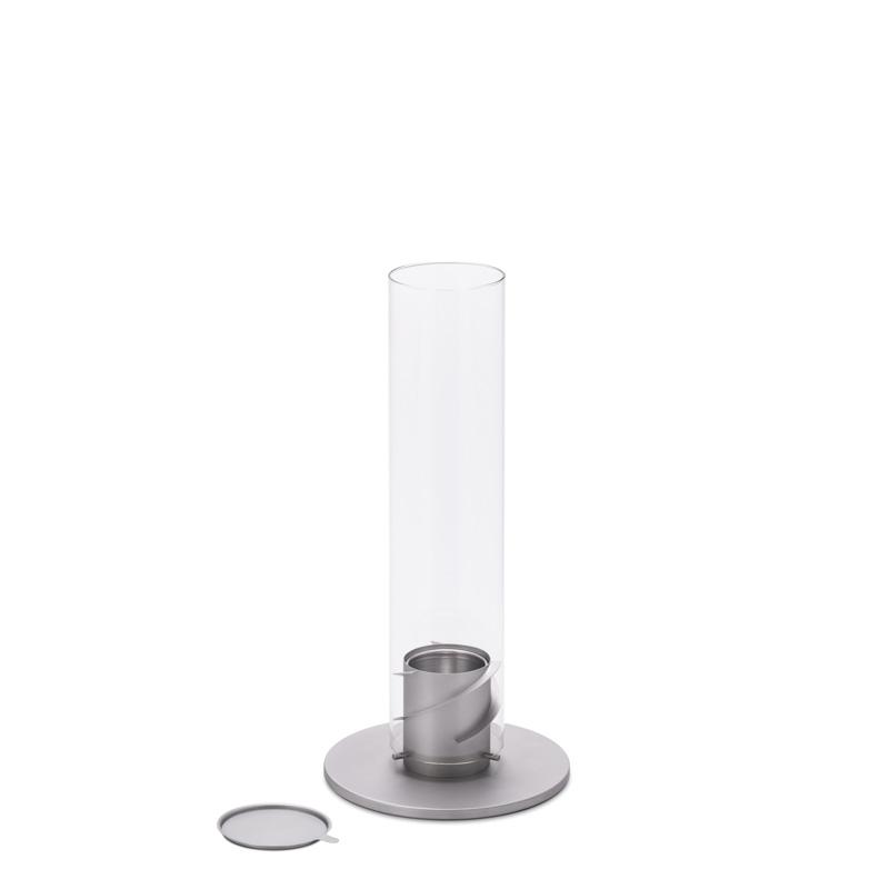SPIN 90 Tischfeuer grau