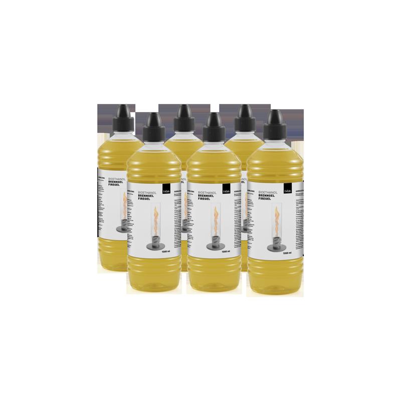SPIN Bioethanol 1l Flasche   6er-Pack