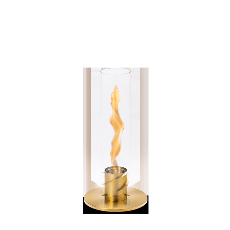 SPIN 90 Tischfeuer gold