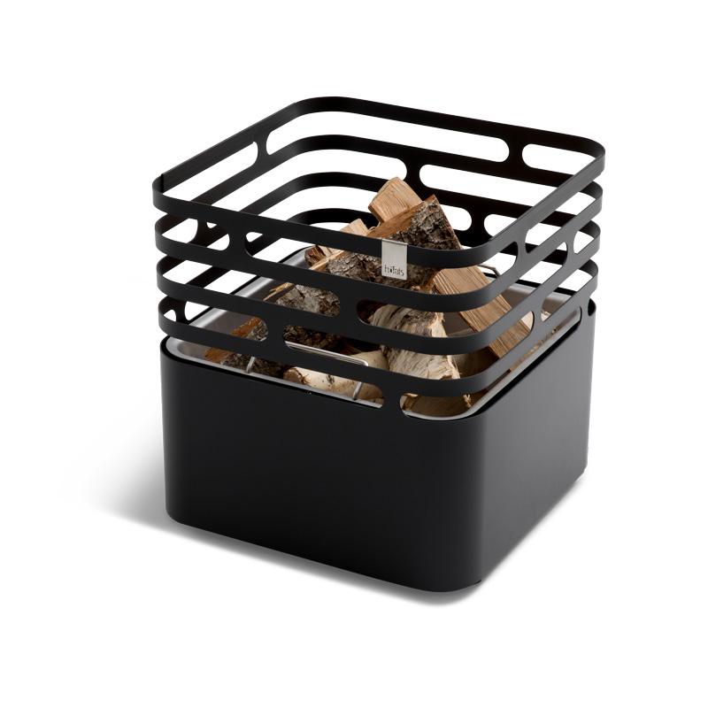 CUBE Fire Basket black